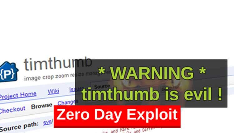 Tim Thumb Zero Day Exploit