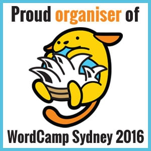 Proud Organiser of WordCamp Sydney 2016