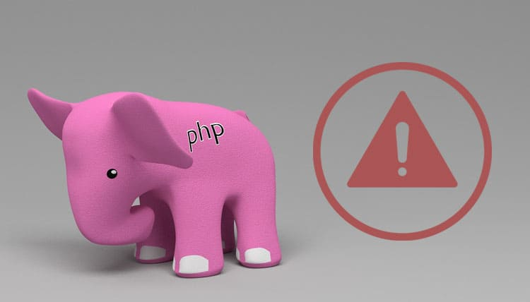 PHP End of life hero image