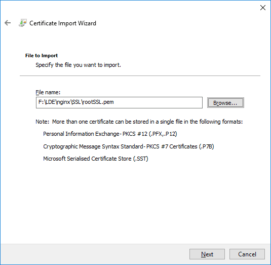 How to Get HTTPS Working in Windows 10 Local Dev Environment