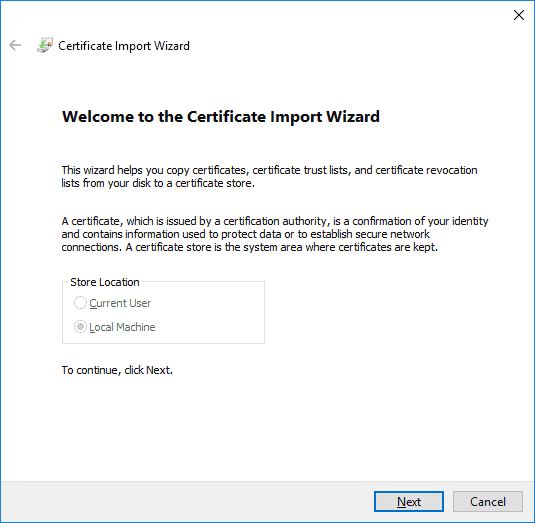 file import wizard