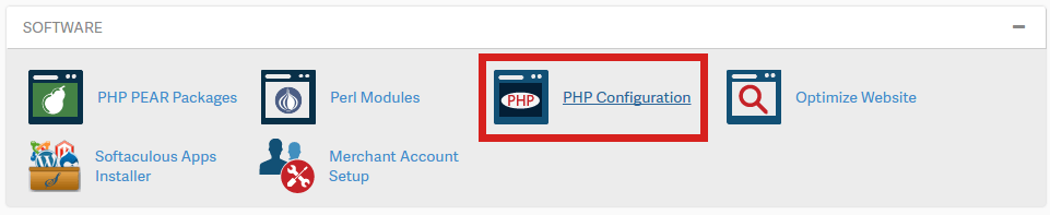 Upgrade PHP version cpanel