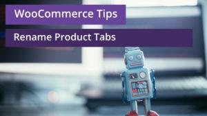 woocommerce rename product tabs